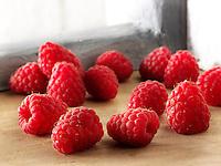 British fruit  - raspberry