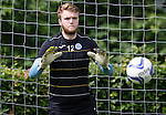 St Johnstone FC Training...<br /> Goalkeeper Zander Clark<br /> Picture by Graeme Hart.<br /> Copyright Perthshire Picture Agency<br /> Tel: 01738 623350  Mobile: 07990 594431
