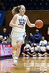 30 October 2012: Duke's Tricia Liston. The Duke University Blue Devils played the Shaw University Lady Bears at Cameron Indoor Stadium in Durham, North Carolina in women's college basketball exhibition game. Duke won the game 138-32.