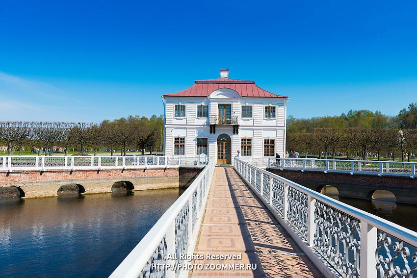 Marly Palace In Peterhof, St. Petersburg