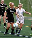 4-20-17 Skyline High School vs Huron High School girl's varsity soccer