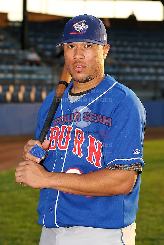 Sept. 6th, 2007:  Leance Soto of the Auburn Doubledays, Class-A affiliate of the Toronto Blue Jays at Russell Diethrick Park in Jamestown, NY.  Photo by:  Mike Janes/Four Seam Images