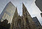 Nov. 20, 2010; St. Patrick's Cathedral in New York City...Photo by Matt Cashore/University of Notre Dame