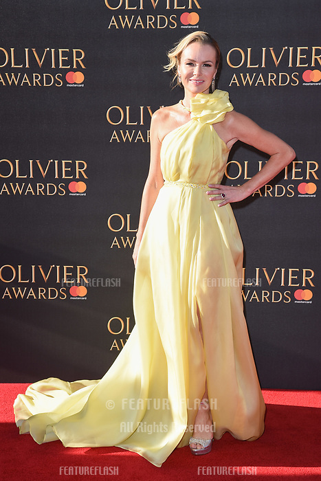 Amanda Holden at The Olivier Awards 2017 at the Royal Albert Hall, London, UK. <br /> 09 April  2017<br /> Picture: Steve Vas/Featureflash/SilverHub 0208 004 5359 sales@silverhubmedia.com