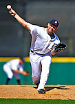 5 March 2009: Detroit Tigers' pitcher Scott Williamson on the mound during a Spring Training game against the Washington Nationals at Joker Marchant Stadium in Lakeland, Florida. The Tigers defeated the visiting Nationals 10-2 in the Grapefruit League matchup. Mandatory Photo Credit: Ed Wolfstein Photo
