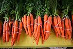 Organic carrot, Makawao Farmers Market,Maui, Hawaii