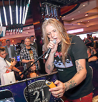 LAS VEGAS, NV - July 23, 2016: ***HOUSE COVERAGE*** Sebastian Bach DJ set at The Center Bar at Hard Rock Hotel & Casino in Las vegas, NV on July 23, 2016. Credit: GDP Photos/ MediaPunch
