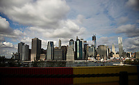Lower Manhattan view after the hurricane Sandy New York, United States. 02/11/2012. Photo by Kena Betancur/VIEWpress.