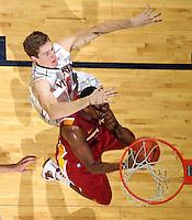 Dec. 30, 2010; Charlottesville, VA, USA; Iowa State Cyclones beat the Virginia Cavaliers 60-47 at the John Paul Jones Arena. Mandatory Credit: Andrew Shurtleff