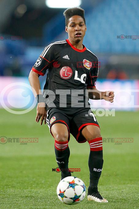 Bayer 04 Leverkusen's Wendell during Champions League 2014/2015 match.March 16,2015. (ALTERPHOTOS/Acero) /NORTEphoto.com