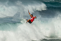 Sunset Beach, Oahu Hawaii, (Wednesday, Dec. 1, 2010) --Joel Parkinson (AUS).   Following a one-week hiatus due to no surf on Oahu's North Shore, the men's O'Neill World Cup of Surfing returned to the waves at Sunset Beach today. Competition was staged at two breaks, with all odd-numbered heats surfing Kammie's and all even-numbered heats surfing Val's Reef. The remaining heats of the round of 128, as well as the entire rounds of 96 and 64 were held, with all major seeds surfing. Waves are in the head-high range...Among those to hit the water today were  former O'Neill World Cup champions Sunny Garcia (HAW) and Myles Padaca (HAW), 2010 Vans Triple Crown title contender Joel Centeio (HAW); as well as Australia's air sensation Julian Wilson; current World #2 South Africa's Jordy Smith;  and Wiggolly Dantas  (Brazil)..Photo: joliphotos.com