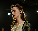 London, UK. 15.06.2015. Mountview Academy of Theatre Arts presents &quot;MARY SHELLEY&quot; (Cast One), at the Karamel Club, Wood Green. By Helen Edmundson <br /> Directed by Sally Ann Gritton. Lighting design by Richard John, with Set &amp; Costume design by Rachel Brennan. Picture shows: Hilary Murnane (Mary). Photograph &copy; Jane Hobson.