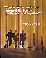 AT&amp;T, Work with us, three men walking