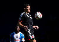 Washington, DC - September 27, 2014: D.C. United defeated the Philadelphia Union 1-0 during a Major League Soccer (MLS) match at RFK Stadium.