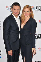 Jeremy Renner and Amy Adams at the &quot;Arrival&quot; prerss conference &amp; photocall, Corinthia Hotel, Northumberland Avenue, London, England, UK, on Tuesday 11 October 2016.<br /> CAP/CAN<br /> &copy;CAN/Capital Pictures /MediaPunch ***NORTH AND SOUTH AMERICAS ONLY***