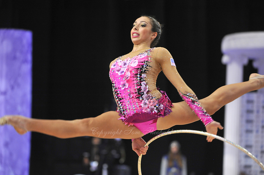 September 23, 2014 - Izmir, Turkey - BECCA SEREDA of USA performs at 2014 World Championships.