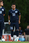 05 September 2016: North Carolina's Nico Melo. The University of North Carolina Tar Heels hosted the Virginia Commonwealth University Rams at Fetzer Field in Chapel Hill, North Carolina in a 2016 NCAA Division I Men's Soccer match. UNC won the game 3-2.