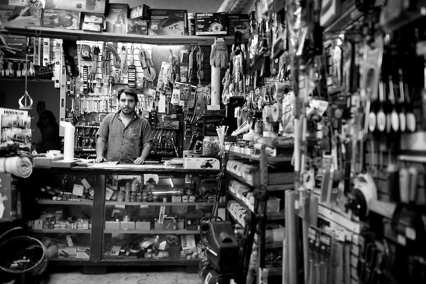 Carlos Ivan Favela Cabrera. Hardware store owners in Culiacan, Sinaloa,  Mexico