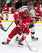 Wiley Sherman (Harvard - 25), Jeff Malott (Cornell - 22) - The Harvard University Crimson defeated the visiting Cornell University Big Red on Saturday, November 5, 2016, at the Bright-Landry Hockey Center in Boston, Massachusetts.