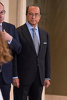 King Felipe VI audiences at Zarzuela Palace.