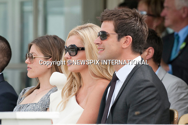 """Katerine Jenkins and Gethin Jones.Cartier Polo 2010 at Guards Polo Club, Windsor_25/07/2010..Mandatory Photo Credit: ©Dias/Newspix International..**ALL FEES PAYABLE TO: """"NEWSPIX INTERNATIONAL""""**..PHOTO CREDIT MANDATORY!!: NEWSPIX INTERNATIONAL(Failure to credit will incur a surcharge of 100% of reproduction fees)..IMMEDIATE CONFIRMATION OF USAGE REQUIRED:.Newspix International, 31 Chinnery Hill, Bishop's Stortford, ENGLAND CM23 3PS.Tel:+441279 324672  ; Fax: +441279656877.Mobile:  0777568 1153.e-mail: info@newspixinternational.co.uk"""