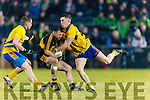 John Payne Dr Crokes in action against Conor Gleeson The Nire at Mallow on Sunday
