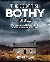 BNPS.co.uk (01202 558833)<br /> Pic: GeoffAllan/BNPS<br /> <br /> The front cover of the book.<br /> <br /> Views with rooms. - New book reveals the remote 'bothies' that lie hidden in some of Britain's most spectacular locations.<br /> <br /> Nestled away in the beautiful remote wilderness of Scotland are a network of secluded mountain huts - known as bothies - where walkers can stay the night before heading to pastures new.<br /> <br /> What is so special about these quaint outposts in some of the most idyllic and untouched landscapes north of the border is that they are completely free to use.<br /> <br /> As a result, the location of many bothies has been a closely guarded secret with visitor centres reluctant to advertise their whereabouts for fear they become overcrowded.<br /> <br /> But in his new book, The Scottish Bothy Bible, author and photographer Geoff Allan has listed more than 80 of them in a bid to make them known to a wider audience.