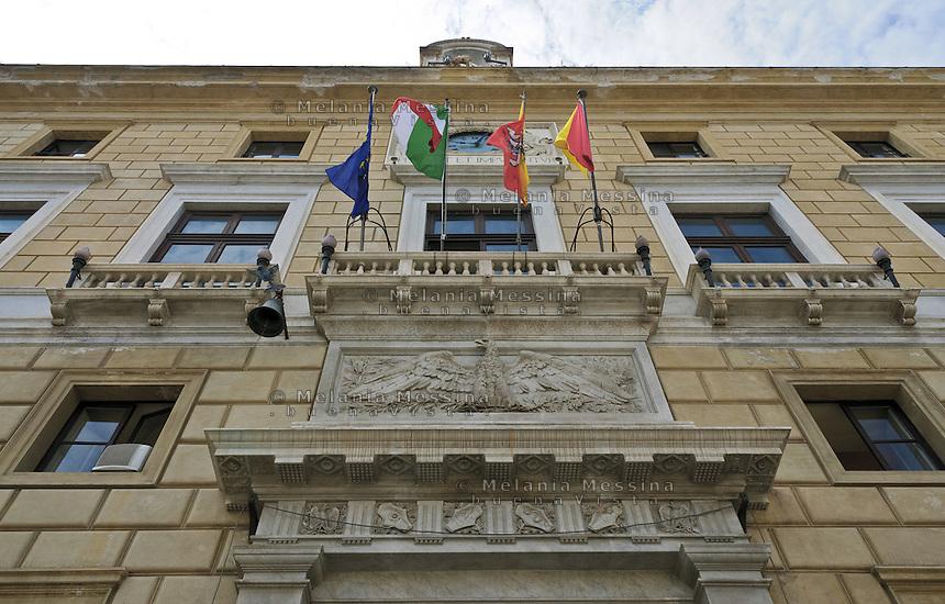 Palermo; palazzo delle aquile