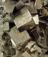 IRON PYRITE - Fool's Gold<br /> Cubic-Diploidal Crystal, FeS2