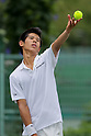 Kaichi Uchida, ..AUGUST 2, 2011 - Tennis : DUNLOP All Japan Junior Tennis Championships 2011, Men's Singles 2nd Round match at Utsubo Tennis Center, Osaka, Japan. (Photo by Akihiro Sugimoto/AFLO SPORT) [1080]