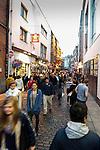 Temple Bar Street in Dublin, Ireland on Saturday, June 22nd 2013. (Photo by Brian Garfinkel)
