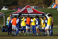 DA U-13/U-14 Eastern Regional Showcase, October 29, 2016