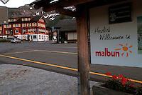 Liechtenstein  Malbun  June 2008.Small town high in the Alpine (southeastern):..