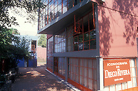 The Museo Estudio Diego Rivera in San Angel, Mexico City