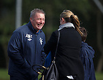 Ally McCoist at training
