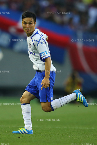 Yasuyuki Konno (Gamba),<br /> MAY 29, 2016 - Football / Soccer :<br /> 2016 J1 League 1st stage match between F.C.Tokyo 1-0 Gamba Osaka at Ajinomoto Stadium in Tokyo, Japan. (Photo by AFLO)