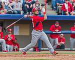 7 March 2015: St. Louis Cardinals catcher Tony Cruz in Spring Training action against the Washington Nationals at Space Coast Stadium in Viera, Florida. The Cardinals fell to the Nationals 6-5 in Grapefruit League play. Mandatory Credit: Ed Wolfstein Photo *** RAW (NEF) Image File Available ***
