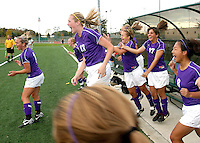 Girls Sectional Soccer vs. Westfield 10-13-08