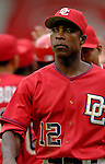 21 May 2006: Alfonso Soriano, outfielder for the Washington Nationals, walks back to the dugout after a game against the Baltimore Orioles at RFK Stadium in Washington, DC. The Nationals defeated the Orioles 3-1 to take 2 of 3 games in their first inter-league series...Mandatory Photo Credit: Ed Wolfstein Photo..