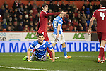 Aberdeen v St Johnstone&hellip;10.12.16     Pittodrie    SPFL<br />Graham Cummins reacts to his missed chance<br />Picture by Graeme Hart.<br />Copyright Perthshire Picture Agency<br />Tel: 01738 623350  Mobile: 07990 594431