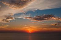 Long Island Sound Sunset<br /> Baiting Hollow, Long Island