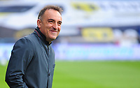 Sheffield Wednesday manager Carlos Carvalhal  i<br /> <br /> Photographer Andrew Vaughan/CameraSport<br /> <br /> The EFL Sky Bet Championship Play-Off Semi Final First Leg - Huddersfield Town v Sheffield Wednesday - Saturday 13th May 2017 - The John Smith's Stadium - Huddersfield<br /> <br /> World Copyright &copy; 2017 CameraSport. All rights reserved. 43 Linden Ave. Countesthorpe. Leicester. England. LE8 5PG - Tel: +44 (0) 116 277 4147 - admin@camerasport.com - www.camerasport.com