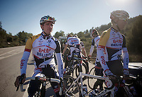 Lotto-Belisol training camp .Benicassim jan 2013