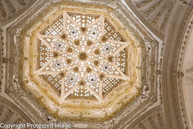 Dome and Roof, Cathedral, Burgos, Spain