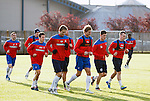 281011 Rangers training