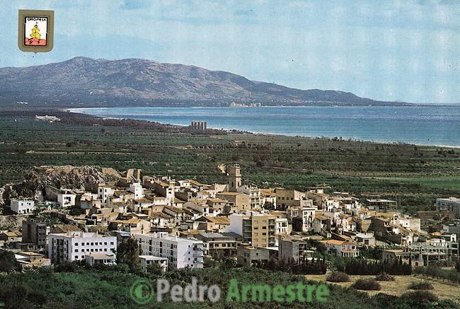 DESTRUCCION A TODA COSTA 2010 (DTC2010) Oropesa del Mar Castellon. Aproximación principios de los 80. © Colección personal Pedro Armestre