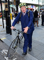 JUL 28 Boris Johnson Impact Zone Team launch, London, Britain - 28 July 2014