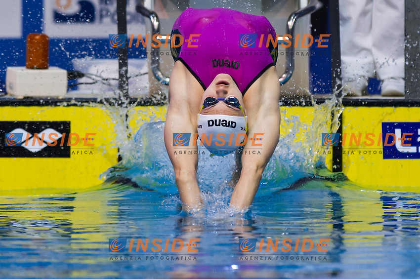 URBANCZYK Aleksandra POL <br />Women's 50m backstroke semifinal<br />Netanya, Israel, Wingate Institute<br />LEN European Short Course Swimming Championships <br />Dec. 2 - 6, 2015 <br /> Netanya 05-12-2015<br />Nuoto Campionati Europei di nuoto in vasca corta<br />Photo Giorgio Perottino/Deepbluemedia/Insidefoto