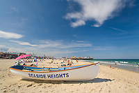 Lifeguard Boat on the beach, Seaside Heights, New Jersey