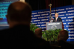 Jamie Dimon, chairman and chief executive officer of JPMorgan Chase, addresses the Capital Markets Summit at the U.S. Chamber of Commerce in Washington D.C., Wednesday, Mar. 11, 2009.